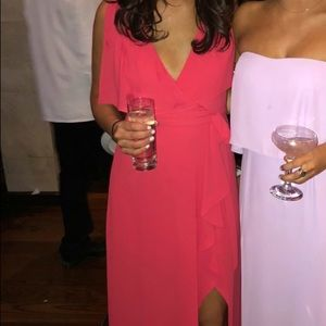 BCBG Red Gown